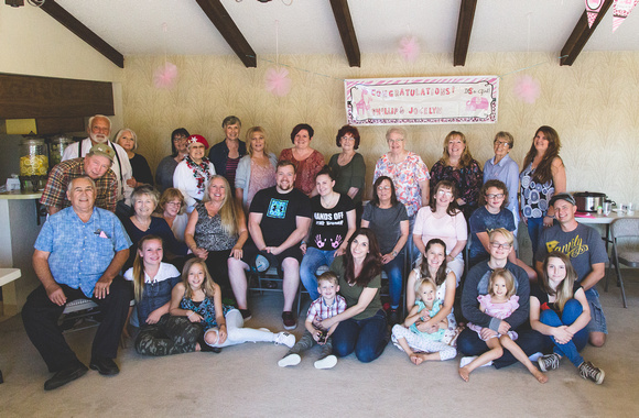 Baby Shower - Group Photo of Guests