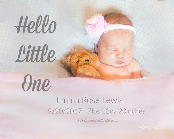 Baby Emma - Newborn Session
