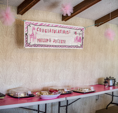 Baby Shower Venue and Decorations
